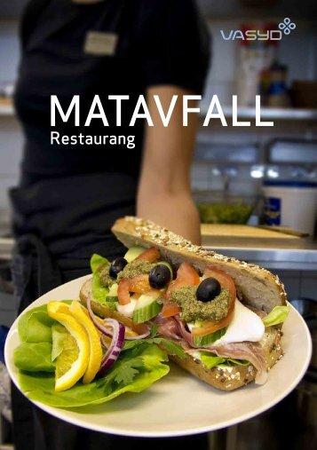 Matavfall restaurang - VASYD