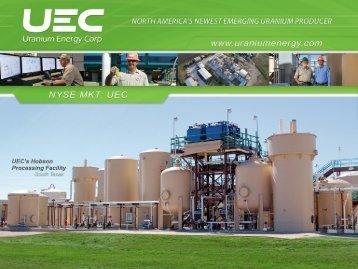 post-fukushima - Uranium Energy Corp.