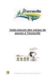 Vade-mecum des camps de jeunes à Tenneville - PSSP