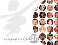 MccOY RIGBY ENTERTAINMENT - La Mirada Theatre for the ...