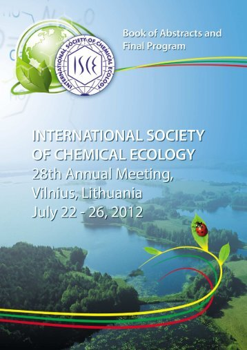 Book of Abstracts - ISCE