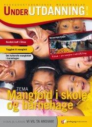 Under Utdanning 3/2008 - Pedagogstudentene