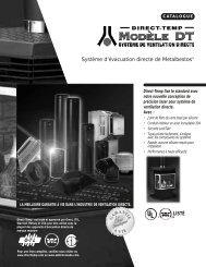 Système d'évacuation directe de Metalbestos® - Wolseley Express