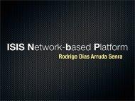 ISIS Network-based Platform - Eventos.bvsalud.org