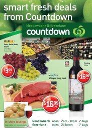 Meadowbank - Countdown