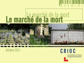 Le marché de la mort - Crioc