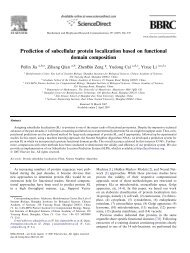 Prediction of subcellular protein localization based on functional ...