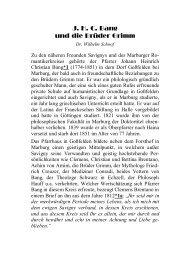 12 J.H.C. Bang und die Gebrüder Grimm