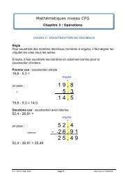 chapitre 3 cours 2 - Matheur
