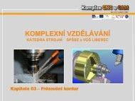 Siemens 840 - Frézování kontur - ShopMill