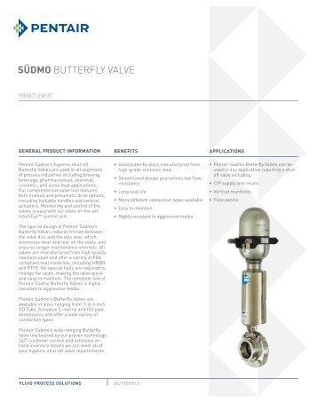 SÜdmo butterfly valve