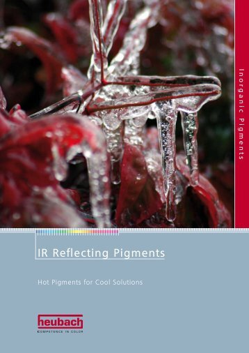 IR Reflecting Pigments - Heubach GmbH