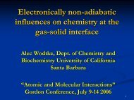 wodtke2 - PIRE-ECCI - University of California, Santa Barbara