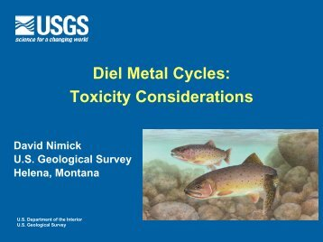 Diel Metal Cycles: Toxicity Considerations