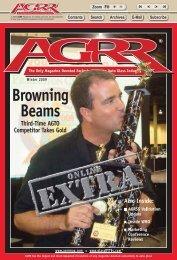Winter Extra 2009 - AGRR Magazine