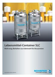Lebensmittel-Container SLC - SCHÄFER Container Systems