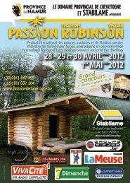 28 - 29 et 30 avril april2012 1er mai mei2012 - Domaine Provincial ...