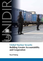 Global Nuclear Security Building Greater Accountability and - UNIDIR