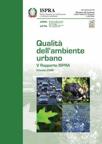 qualità dell'ambiente urbano v rapporto annuale - Confartigianato ...