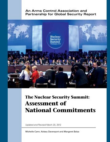 Assessment of National Commitments - Arms Control Association