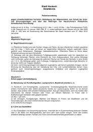 Polizeiverordnung - Stadt Heubach