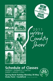 Livestock sched 2011_Layout 1 - Surrey County Agricultural Society