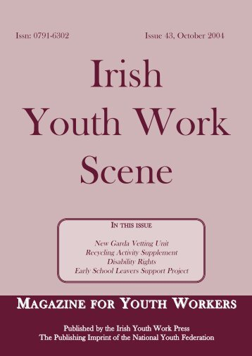 Issue 43: October 2004 - Youth Work Ireland