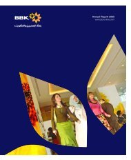 Annual Report 2005 - BBK