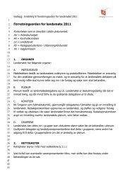 Forretningsorden for LM - Pedagogstudentene