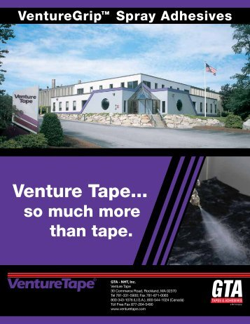 Download Catalog - Venture Tape