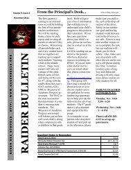 Newsletter - 2011-2012 November