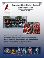 Argentina Field Hockey Festival - Selects Sports