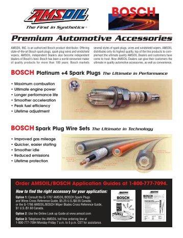 Bosch Premium Automotive Accessories