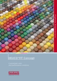 HEUCO®FIT Concept - Heubach GmbH