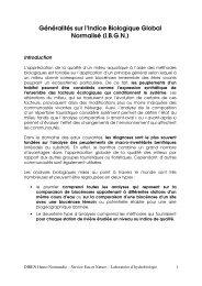 Généralités sur les IBGN - DREAL Haute-Normandie