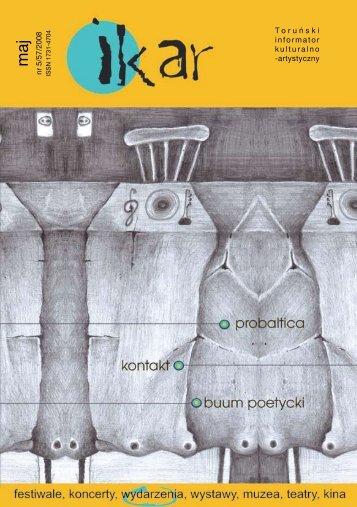 tu można pobrać Ikara z maja 2008 r. (w formacie pdf) - Toruń