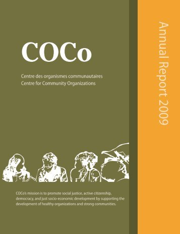 Annual Report 2009 English - COCo