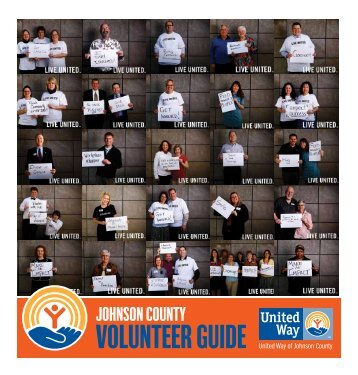 United Way of Johnson County Volunteer Guide 2011 - Shelter House