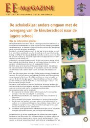 De Schakelklas - CEGO Publishers