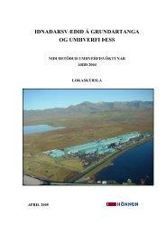 Niðurstöður umhverfisvöktunar fyrir rekstrarárið 2004 - Norðurál