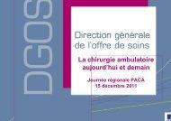 La Chirurgie ambulatoire - ARS Paca