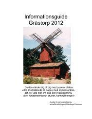 Informationsguide socialpsykiatri - Grästorps kommun