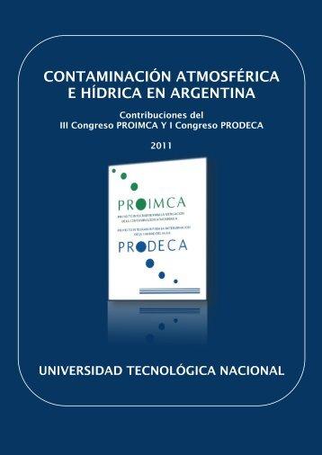 LIBRO PROIMCA3 - SICyT - Universidad Tecnológica Nacional
