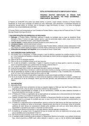Altera os Anexos I e II da Lei Complementar nº 009 de 26 dezembro ...