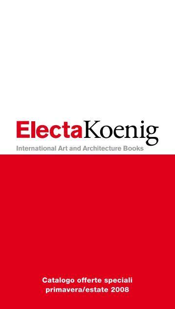 Catalogo offerte speciali primavera/estate 2008 - Gallery Electa Web ...