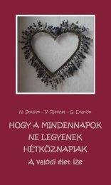 Hogy a mindennapok ne legyenek hétköznapiak - Magyar ...