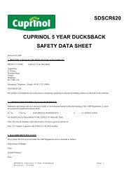 SDSCR620 Cuprinol 5 Year Ducksback 2 - Toolbank