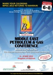 middle east petroleum & gas conference - Conference Connection