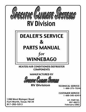 Hd Winnebago Rialta Motor Home