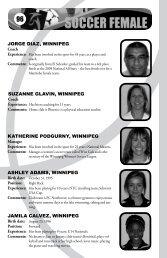 SUzANNE GLAVIN, WINNIPEG KATHERINE ... - Sport Manitoba